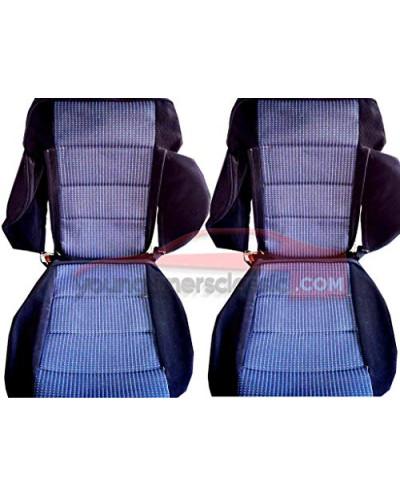 Garniture de siège Peugeot 309 GTI 16 Tissu Quartet bleu