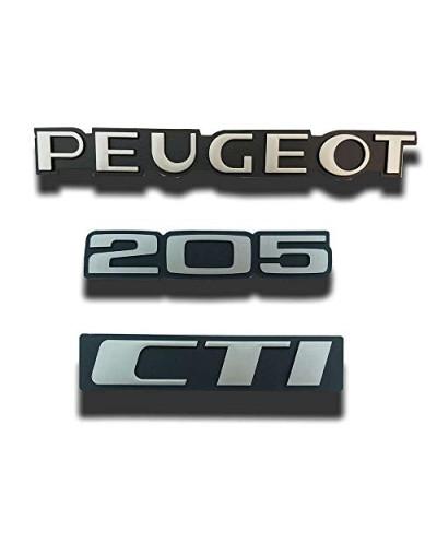 Peugeot 205 Cti monograms
