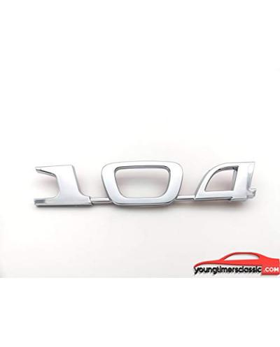 Monogramme 104 pour Peugeot 104