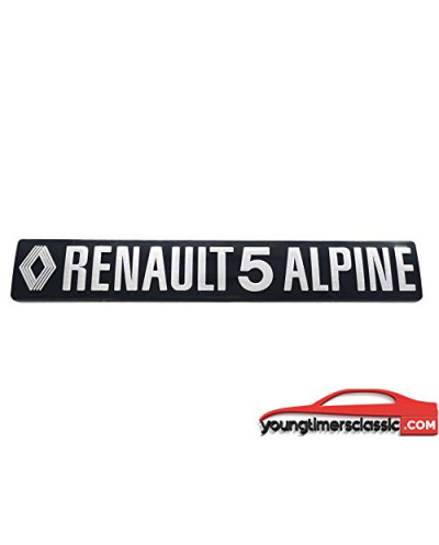 Monogramme Renault 5 Alpine