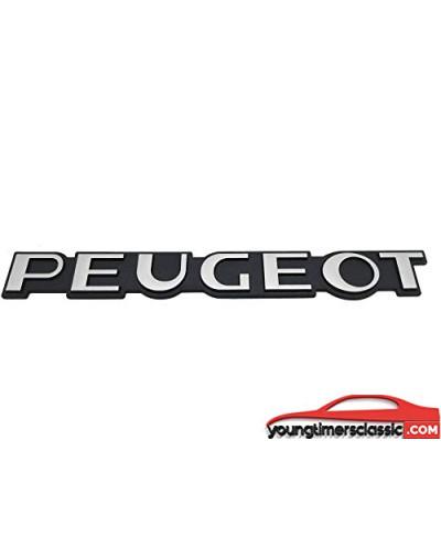 Monogramme Peugeot pour Peugeot 104 - Gris