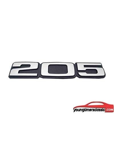 Monogramme 205 pour Peugeot 205