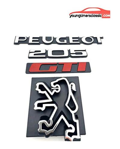 Peugeot 205 Gti monograms