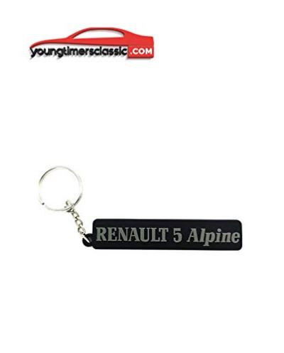 Renault 5 alpine keychain