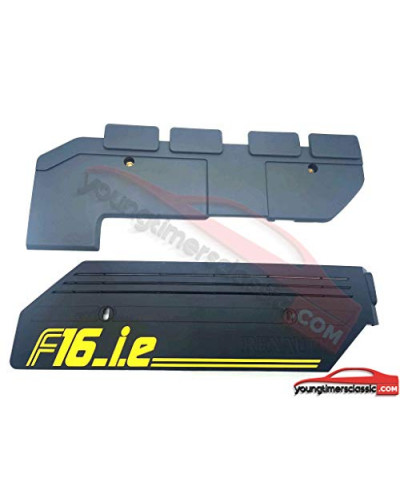 Set of 2 engine covers for Renault Clio 16S