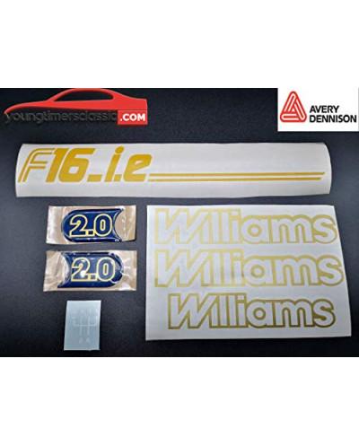 Stickers Clio Williams Phase 1