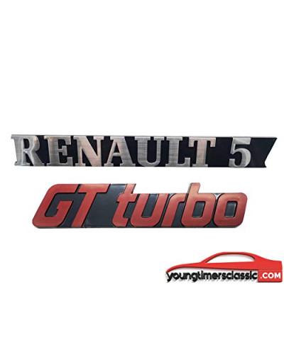 Renault 5 Gt Turbo monograms