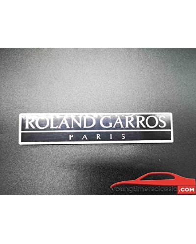 Monogramme Roland Garros Paris pour Peugeot 205