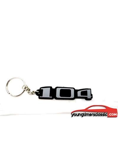 Porte clé Peugeot 104