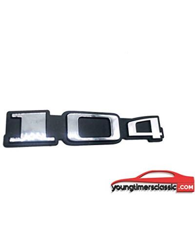 Monogramme 104 pour Peugeot chrome