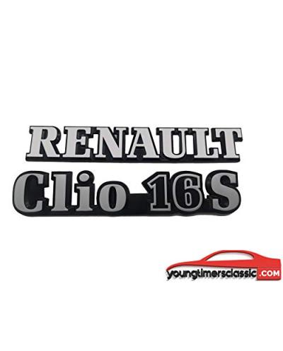 Renault Clio 16S monograms