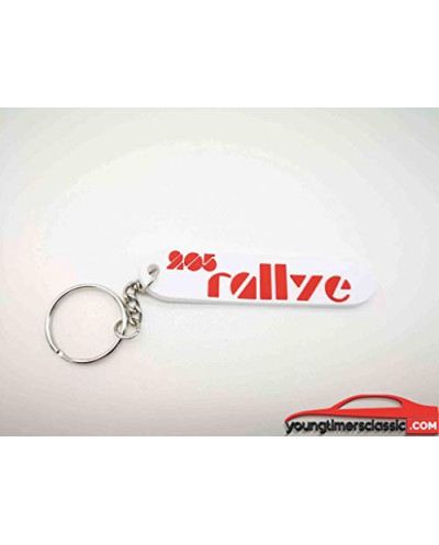 Peugeot 205 Rally keychain