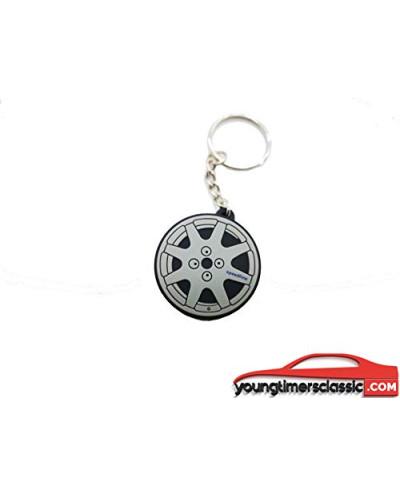 Clio speedline rim key ring