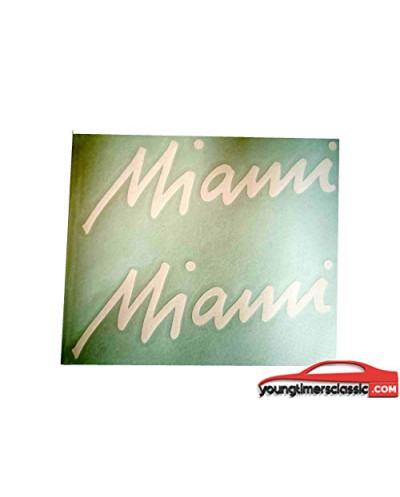 Stickers for Peugeot 205 Miami sticker for front fenders