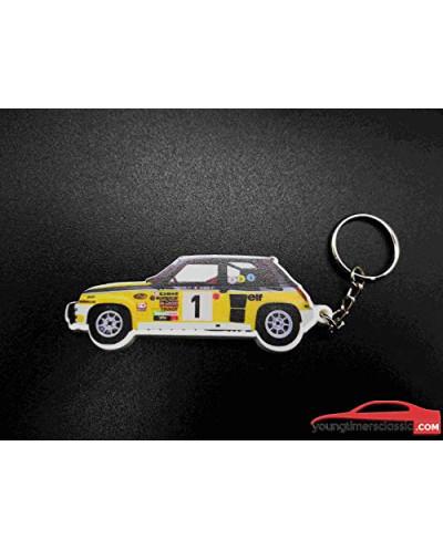 Keychain Renault 5 Turbo Group 4 Jean Ragnotti