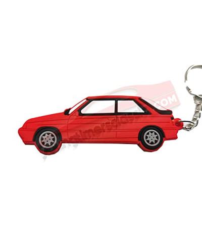 Porte clé R11 Turbo Rouge