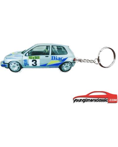 Clio Diac number 5 keychain