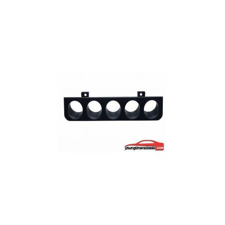 Peugeot 205 5-hole switch faceplate