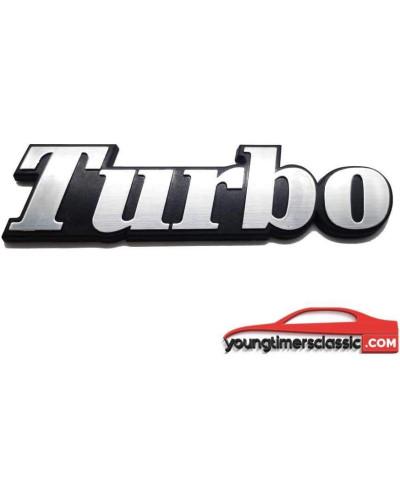 Monogramma Turbo per Renault 18 Turbo