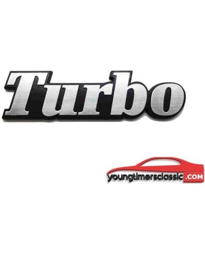 Turbo monogram for Renault 18 Turbo