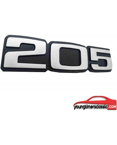 Monogramme 205 pour Peugeot 205 Roland Garros