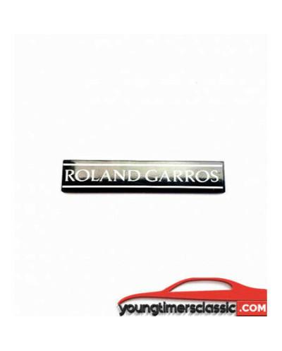Monogramme Roland Garros pour Peugeot 205