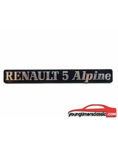 Monogramme Renault 5 Alpine Turbo