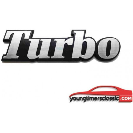 Monogramme Turbo pour Renault 5 Alpine