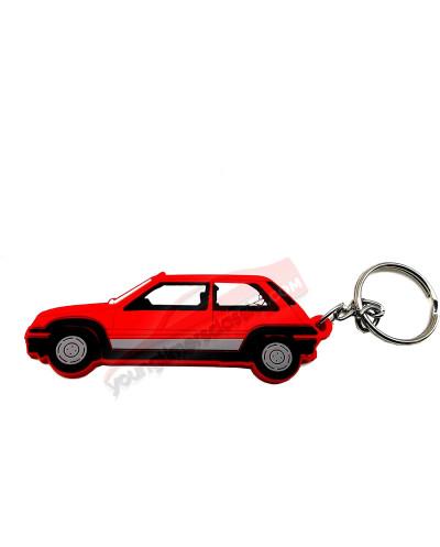 youngtimersclassic Porte clé Super 5 GT Turbo Phase 1 Rouge