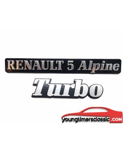 Monogrammes Renault 5 Alpine Turbo