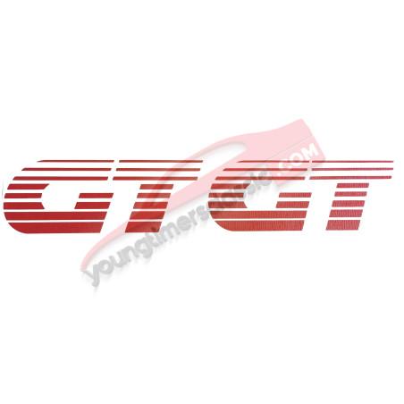 Stickers GT pour aile avant Peugeot 205 GT