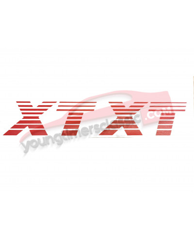 Stickers XT for Peugeot 205 XT front wings
